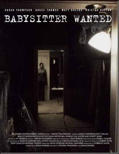 Babysitterwantedposter