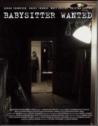Babysitterwantedposter