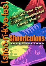 Shoericulous Shoe Banner