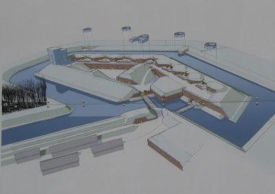 Fort Zachodni - makieta