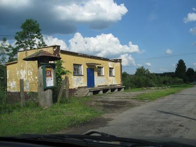 Mazurskie drogowe krajobrazy