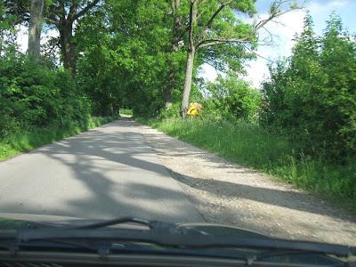 Wspaniałe mazurskie drogi