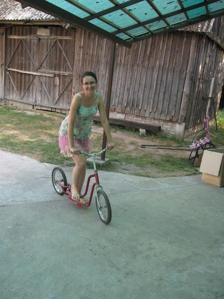 muzeum rowerów gołąb - hulajnoga