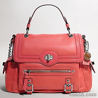 coach coral handbag.bmp