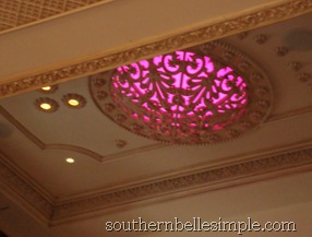 plaza ceiling light