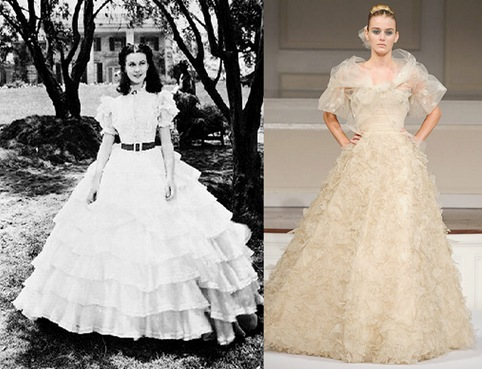 gwtw white dress