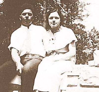 grandpa&grandma young at homestead