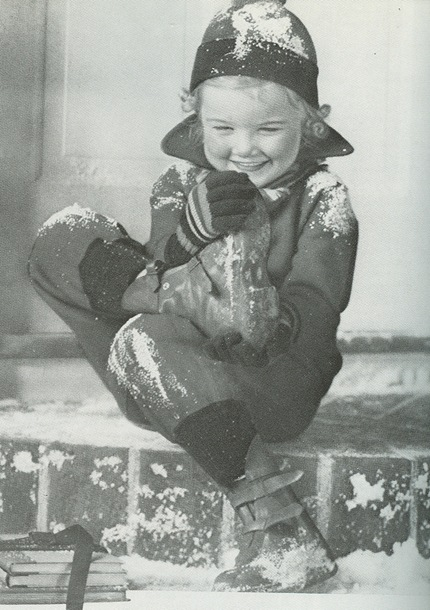 little girl in snowsuit vanity fair 36