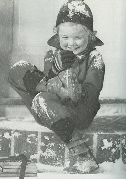 little girl in snowsuit vanity fair 36