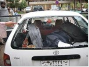 Auto bimba uccisa Afghanistan maggio 2009