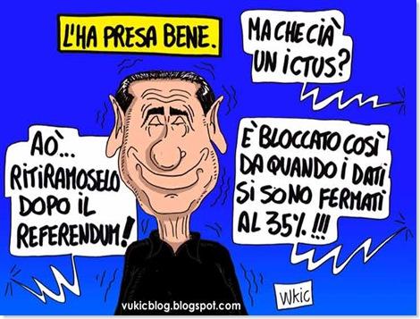 Berlusconi l'ha presa bene