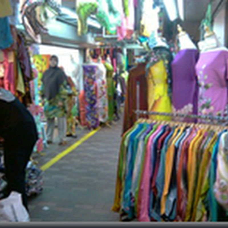 Agenda utama di Pasar Payang , Kuala erengganu ..