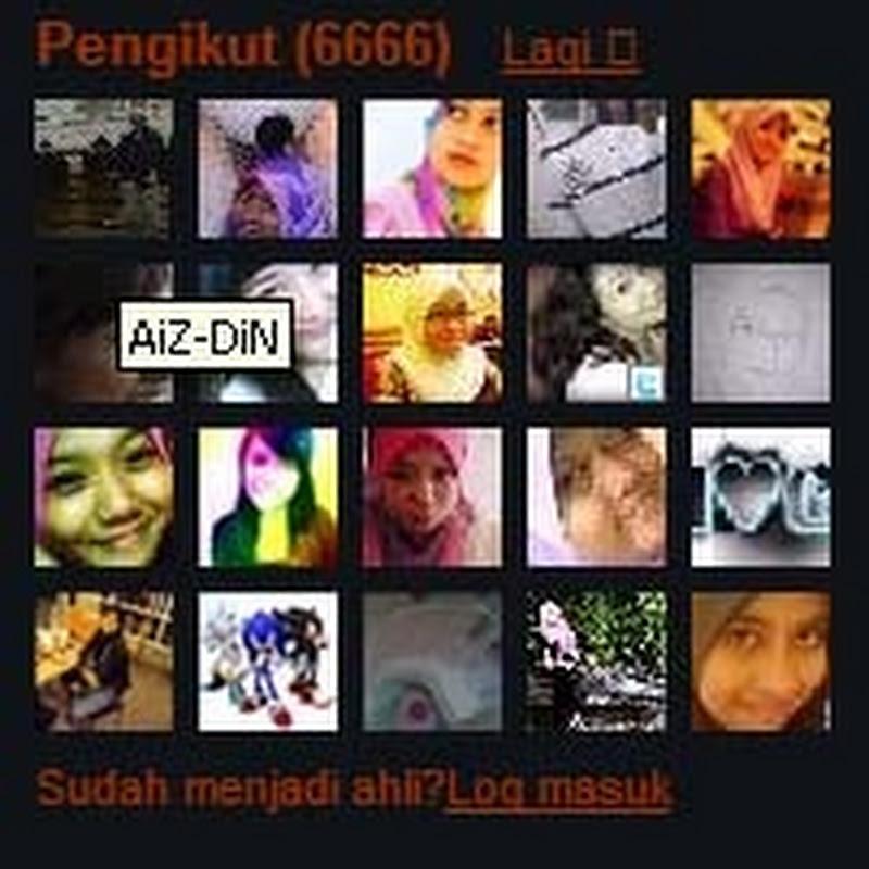 Follower ke  - 6666 dan PAGE BEN ASHAARI