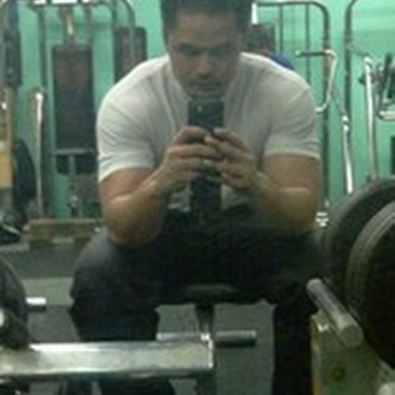 Gym dan tiru gaya blogger awek lagi ?