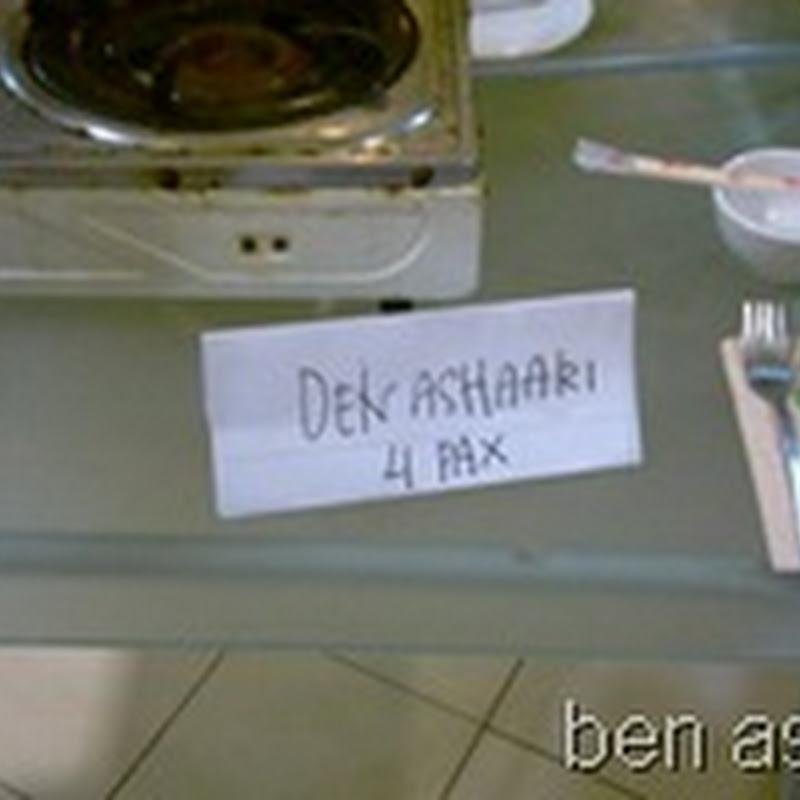 Sudah ku bilang ..BEN ASHAARI, okeh !
