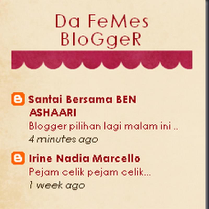Perasaan bila blog kita dikenali ramai ..