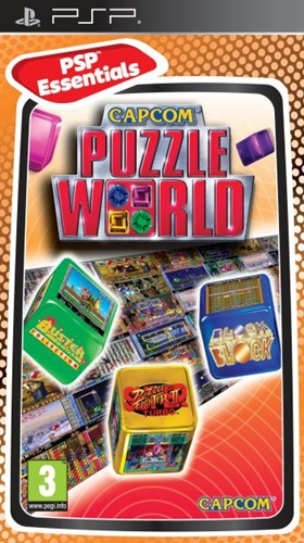 Capcom Puzzle World Essentials (PSP)