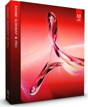 Adobe Acrobat X Pro for Mac (Ver 10)