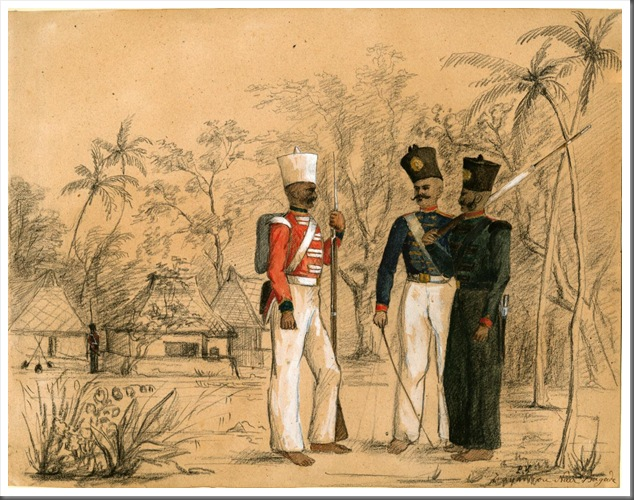 Travancore Nair Brigade (©Anne S. K. Brown Military Collection, Brown University Library)