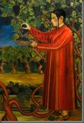 Byashim Nurali: Picking Grapes (1929)