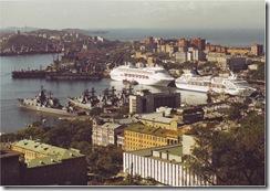 Визит трансокеанских лайнеров в г.Владивосток