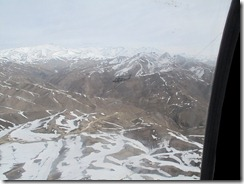 Chase Helo over Shibar Pass