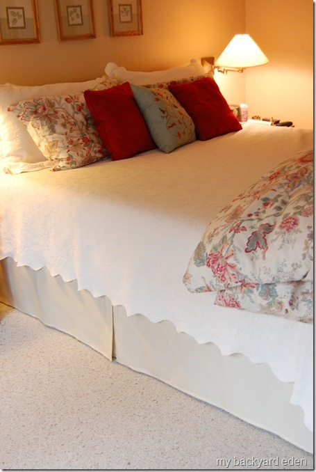 easy tailored bed skirt