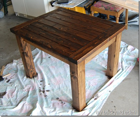 Stained Hyde Side Table