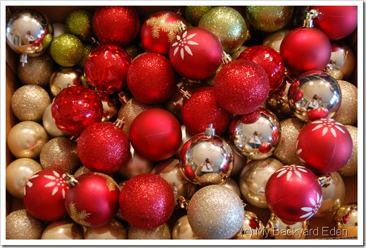 Box of Ornaments