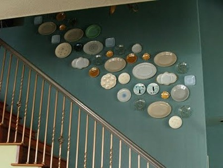 Plate Wall by Reese Dixon