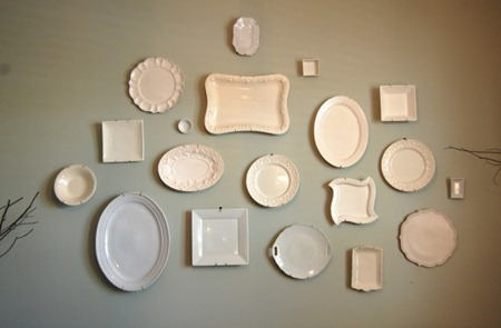 Plate Wall by Nesting Place