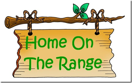 Copy of sign home on the range