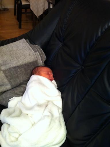 Oskar i soffan