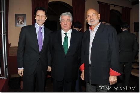 Carlos Peñaloza, Arturo Fernández y Paco Cózar