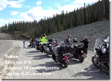 Travel Trip Motorcycling to Alaska