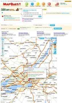 mapa Québec