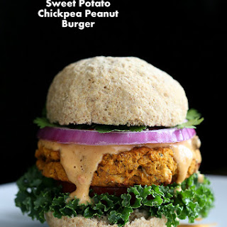 Sweet Potato Peanut Burgers