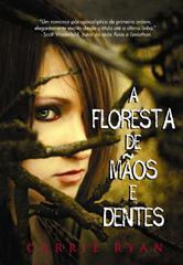 floresta de mãos e dentes