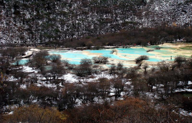 初雪黄龙  斑斓九寨 - 银月 - 银月的博客