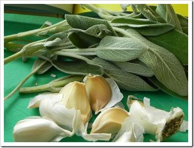 Sage & garlic