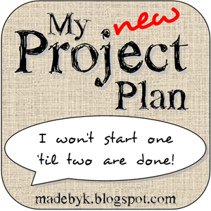 My New Project Plan: I won't start one 'til two are done!