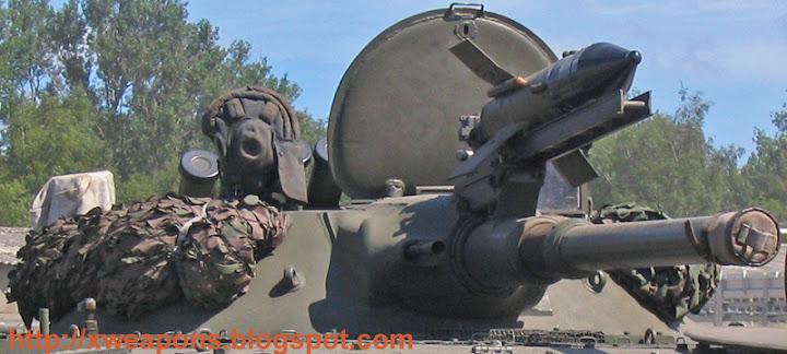 صاروخ ساغر ( قاهر الميركـافا )  BMP-1_AP_2