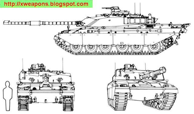 دبابة تشالنجر 2 Challenger1