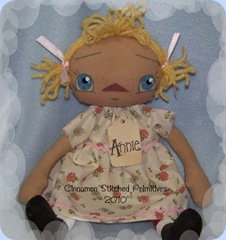 MY RAGGEDY DOLLS Blonde annie 1-1-10