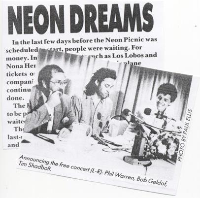 Neon Picnic headline