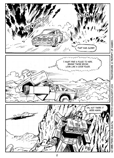 Comics Project - Transformers - As Fallen from the Sky - page 02