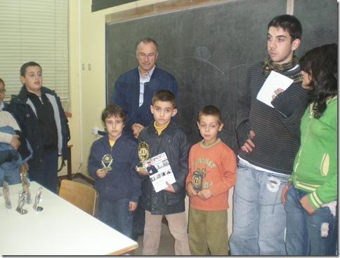 3º torneio Vila Pouca dos Pequeninos - podio sub-08