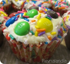 cupcake amigable pastelitos