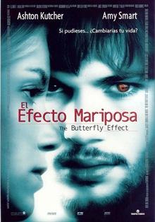 Poster El efecto mariposa