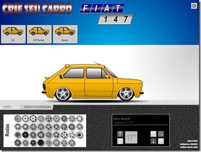 Este Fiat 147 preparado pode ser seu primeiro carro de corrida